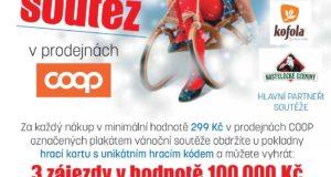 Velká vánoční soutěž v prodejnách COOP